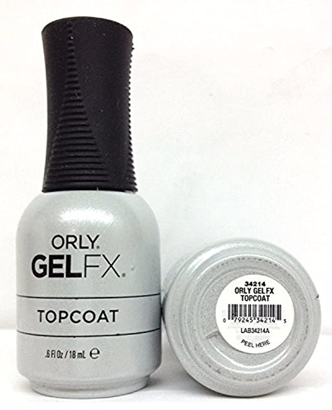 栄光葬儀生息地Orly Gel FX - Top Coat - 0.6 oz / 18 mL