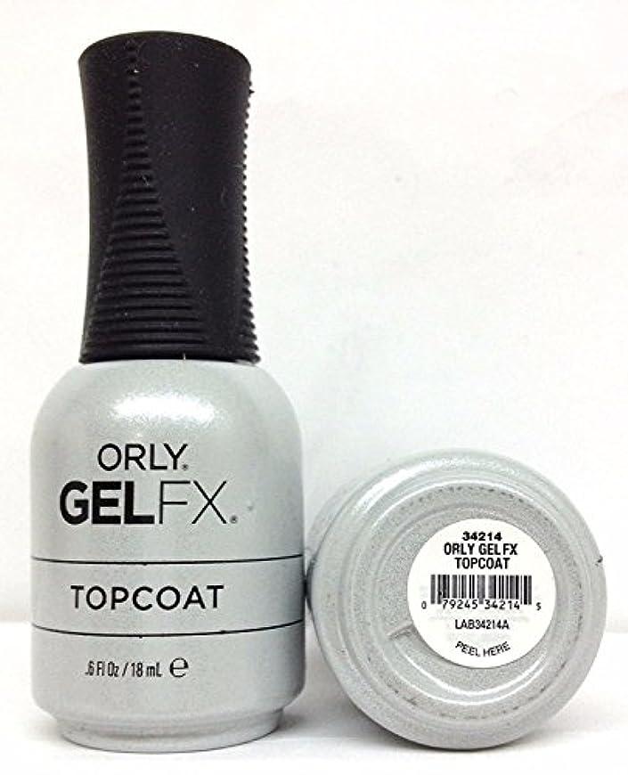 怪物村眩惑するOrly Gel FX - Top Coat - 0.6 oz / 18 mL