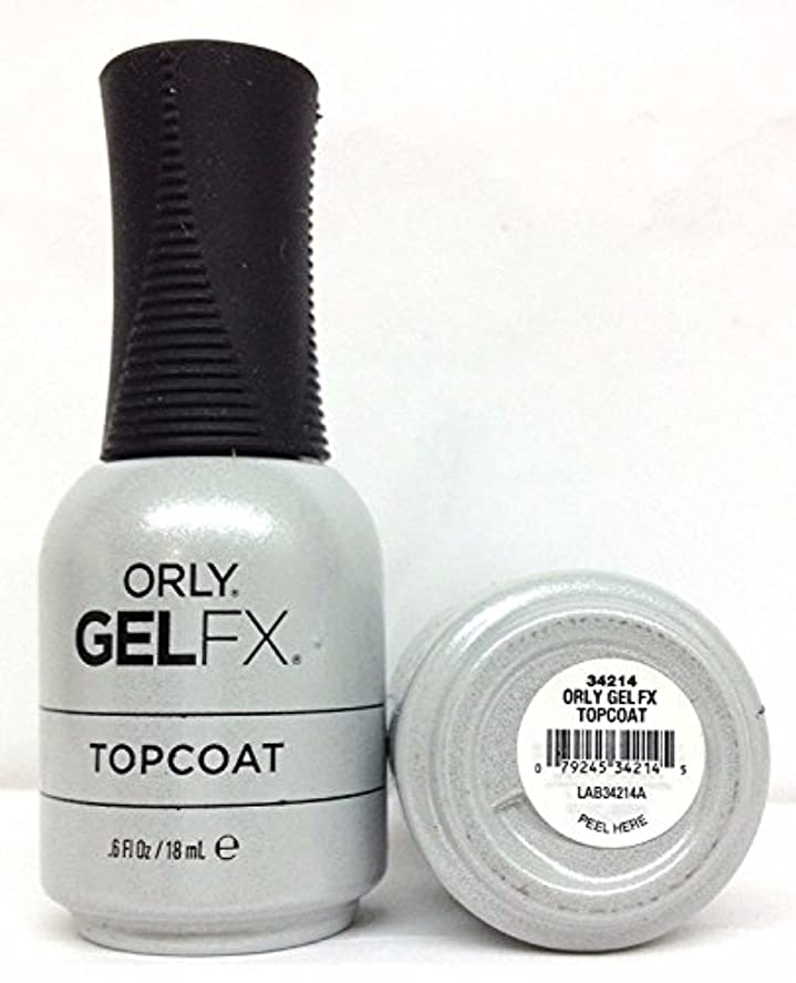 境界ドラムゼリーOrly Gel FX - Top Coat - 0.6 oz / 18 mL