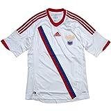 adidas 2012-13 ロシア代表 アウェイ半袖 ユニフォーム X17978 (インポートS)