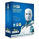 【旧商品】ESET パーソナル セキュリティ | 1台3年版 | Win/Mac/Android対応(PC ソフトウェア)
