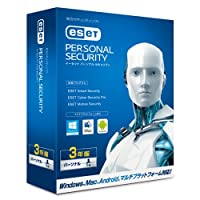 ESET パーソナル セキュリティ   1台3年版   Win/Mac/Android対応