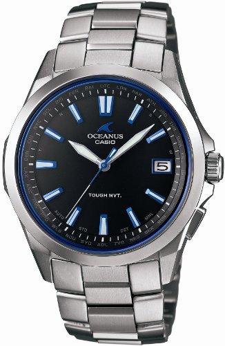 [カシオ]CASIO 腕時計 オシアナス 電波ソーラー OCW-S100-1AJF メンズ