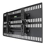 テレビ壁掛け金具 ホッチキス止め TVセッター壁美人 TI100 Sサイズ ブラック TVSKBTI100SB