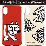 【カラー:マイキー】iPhoneX リサラーソン Lisa Larson キャラクター ソフトケース ソフト ケース 背面 背面ケース かわいい シンプル グッズ マイキー ハリネズミ TPU iphone X iPhoneXケース アイフォンX アイフォンテン エックス スマホケース スマホカバー テン 10 s-gd_7a217