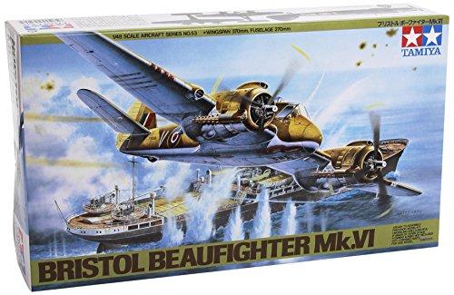 1/48 傑作機 No.53 1/48 ブリストル ボーファイター Mk.VI 61053