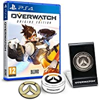 Overwatch Origins Edition - 'Memory of War' Metal Coin & Metal Badge Bundle (Exclusive to Amazon.co.uk) (PS4) by Blizzard [並行輸入品]