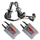 HIDキット H4 Hi/Low リレーレス 55W 4300K 極薄 瞬間起動 完全防水 1年保証