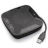 Plantronics 610-M Portable USB Speakerphone Optimized for Microsoft Lync, Black