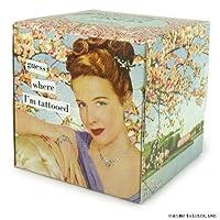 Anne Taintor Tissue Box, Mini, Tattooed