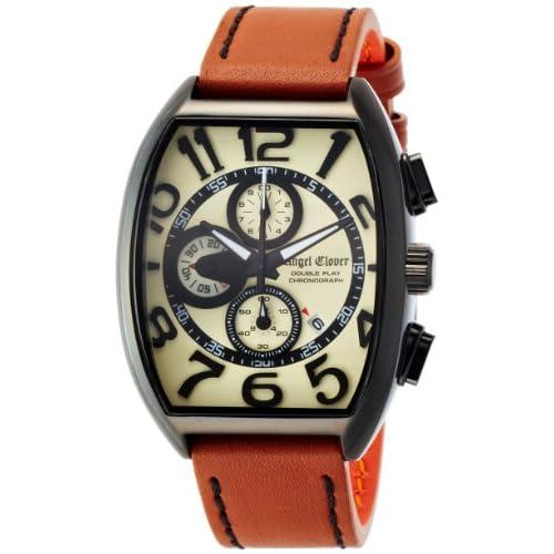 [エンジェルクローバー]Angel Clover 腕時計 Double Play ベージュ文字盤 クロノグラフ DP38BSB-LB メンズ
