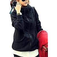 [1/2style(ニブンノイチスタイル)] 裏 ボア 防寒 ストリート スタンド カラー ブルゾン ジャケット コート…