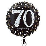 (アムスキャン) Amscan お誕生日おめでとう Happy Birthday アルミ風船 パーティー バルーン (18-100歳) (ワンサイズ) (70)