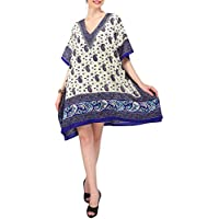Miss Lavish London Women Kaftan Tunic Kimono Style Plus Size Dress for Loungewear Holidays Nightwear & Everyday Cover Up Tops #120