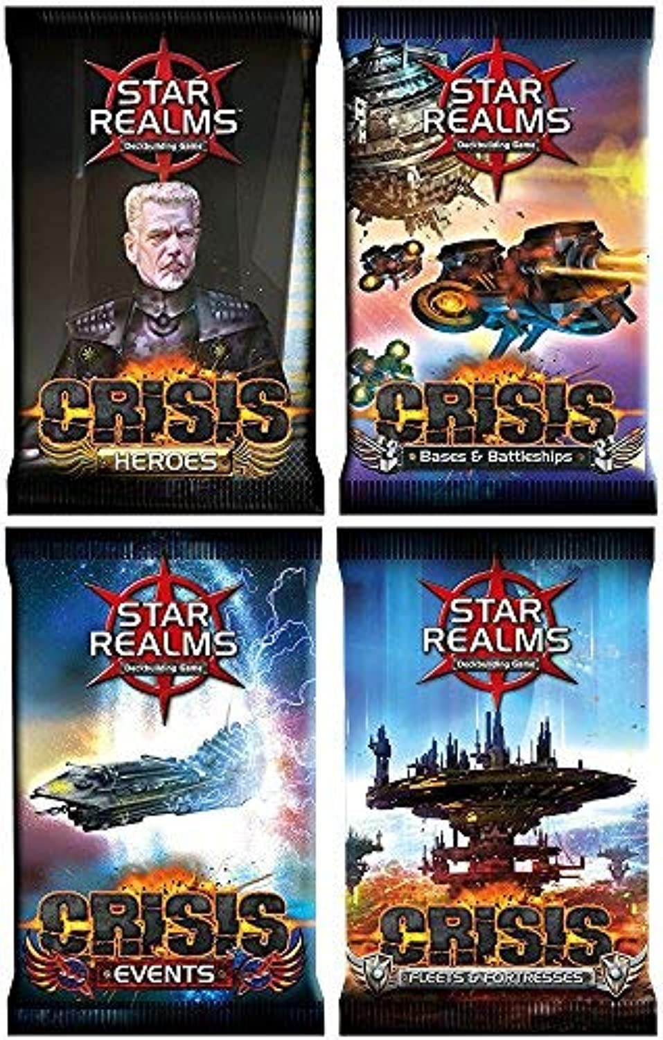 Star Realms: Crisis Bundle of 4 Expansion packs by White Wizard Games (4 items) [並行輸入品]