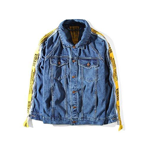 VETEMENTS ヴェトモン メンズ デニム ジャケット リボン袖 秋服 Gジャン オーバーサイズ カジュアル