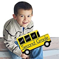 2nd Grade - Last Day of School Bus Sign - Photo Prop [並行輸入品]