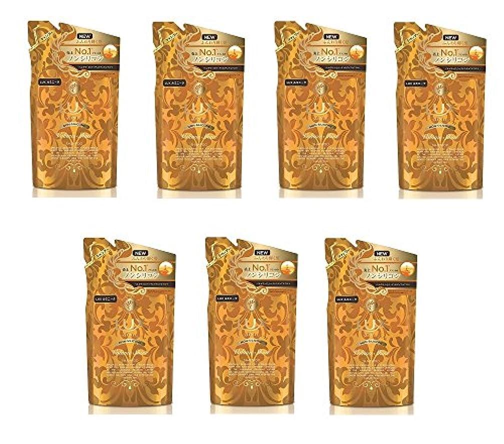 混乱させる柔らかい致死【まとめ買い】ラックス ルミニーク ボリューム シャイン ノンシリコン シャンプー つめかえ用 350g×7個