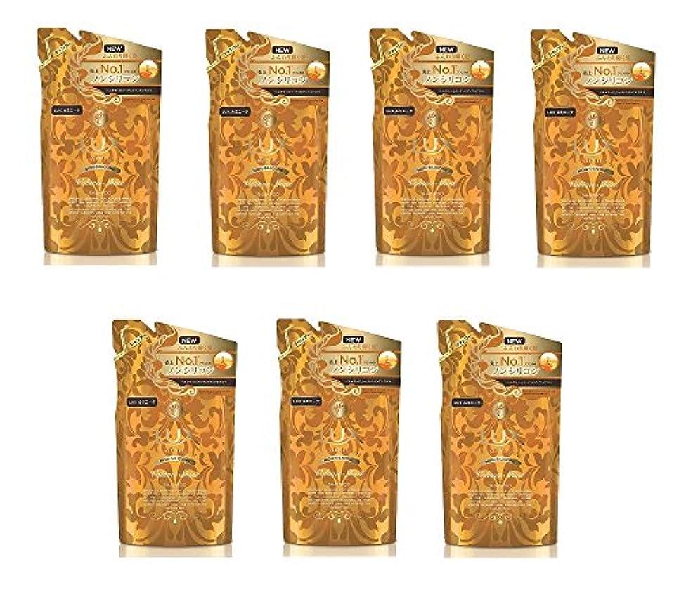 プラス下線操作【まとめ買い】ラックス ルミニーク ボリューム シャイン ノンシリコン シャンプー つめかえ用 350g×7個