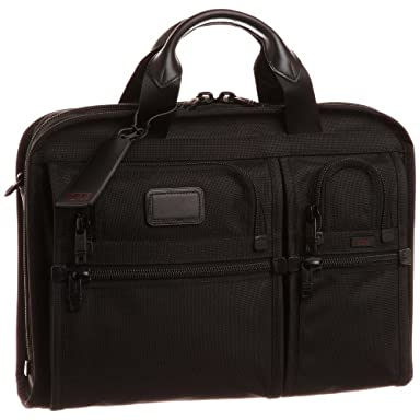 Tumi Organizer Portfolio Brief 26108: Black