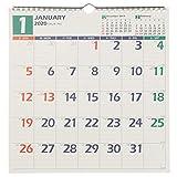 能率 NOLTY 2020年 カレンダー 壁掛け 20 A3変型 C127 AZ