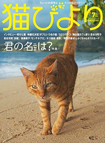 猫びより 2017年 07 月号
