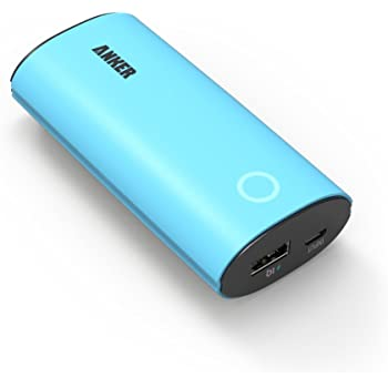 Anker® Astro 第2世代 モバイルバッテリー 6400mAh iPhone 6s/iPhone 6s Plus/iPhone6/iPhone5C/5S/5/4S/4/iPod/iPad/Xperia/GALAXY/ウォークマン等対応【PowerIQ™搭載】(ブルー)