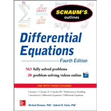 Schaum's Outline of Differential Equations, 4th Edition (Schaum's Outlines)