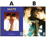 韓国雑誌 MAPS(マップス)2018年 6月号 (SEVENTEEN バーノン&スングァン/ウォヌ&ディエイト表紙/画報掲載) タイプ A
