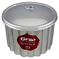 "Grilo台所用品Flanプディング金型蓋Banho Maria canelada Made in Portugal N.20 8.5"" - 20 Cm"