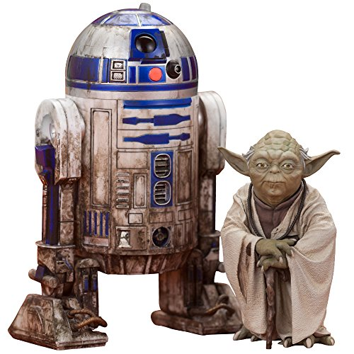 ARTFX+ STAR WARS ヨーダ & R2-D2 ダゴバパック 1/10スケール PVC製 塗装済み簡易組立フィギュア
