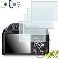 4 x DISAGU ClearScreen Fujifilm FinePix S4500対応 画面保護フィルム 雑菌防止 ブルーライトフィルタ 保護フィルム