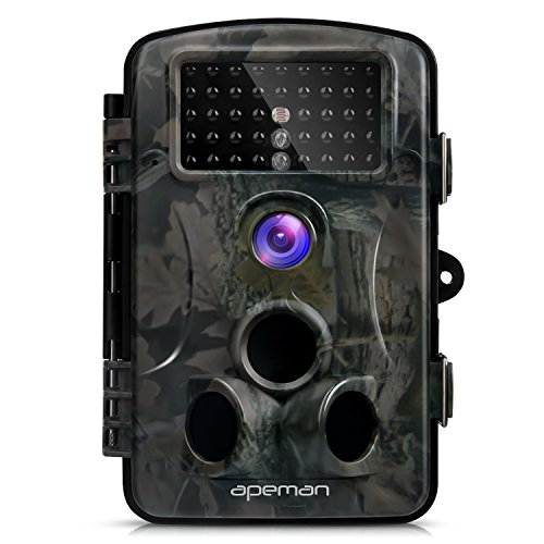 APEMANトレイルカメラ 防犯カメラ 暗視カメラ 狩猟モニターカメラ 監視...