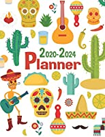 2020-2024 Planner: 5 Years and 60 Months Calendar