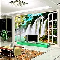 Wuyyii ヨーロッパのシンプルな3D壁紙壁画立体レリーフ花写真壁の壁画用リビングルーム寝室テレビデスクトップの壁紙C280×200センチ