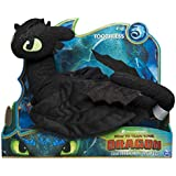"""Dreamworks Dragons, Toothless 14"""" Deluxe Plush Dragon, for Kids Aged 4 & Up"""