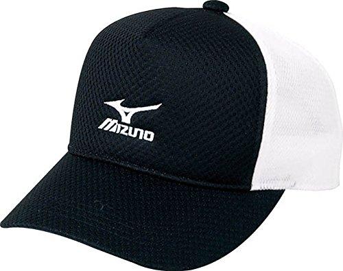 (ミズノ)MIZUNO テニスウェア キャップ [UNISEX] A75BM012 09 ブラック F -