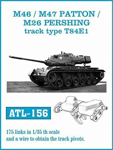 フリウルモデル 1/35 金属動履帯 M46/M47/M26 T84E1 金属パーツ ATL-156