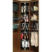 rev-a-shelf clsz-m5 – 96 – 1メンズ5シェルフ靴Zen、クロム