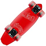 """Lost SurfSkates(ロストサーフスケート) """"HESHERS"""" ALUMINUM CRUISERS 22"""" RED SS400"""