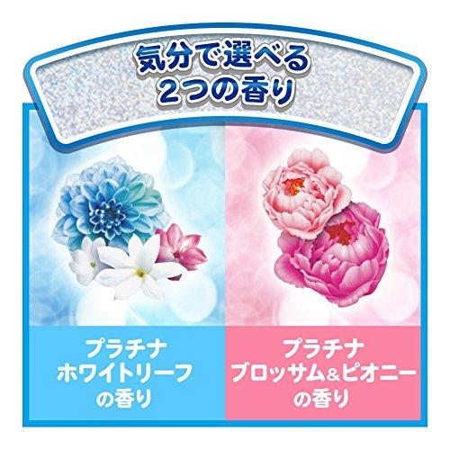 『ボールド 洗濯洗剤 ジェルボール Wプラチナ プラチナブロッサム&ピオニーの香り 詰め替え 特大 705g(36個入)』の2枚目の画像