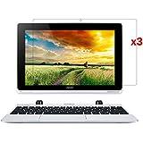 【3枚パック】【ShineZone】Acer Aspire switch 10 SW5-012 専用液晶保護フィルム 高光沢 指紋防止 気泡レス 反射防止タイプ