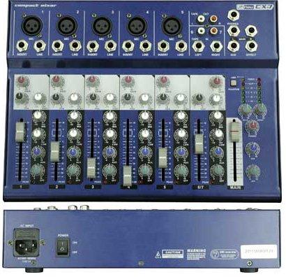 NEU ヌー CX7  コンパクト7チャンネルミキサー