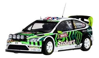 LJP Corporation サンスター 1/18 フォード フォーカス RS WRC GB 2010 #5 完成品