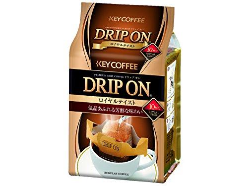 キーコーヒー ドリップ オン ロイヤルテイスト 1パック(10袋)