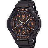 カシオ G-SHOCK スカイコックピット 【電波時計 オレンジ文字 腕時計 うでどけい ぼうすい おしゃれ ファッション ブランド かしお gショック メンズ かっこいい 黒 ブラック 34000】