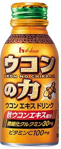 ハウスウェルネス ウコンの力 ウコンエキスドリンク 100mlボトル缶×30本