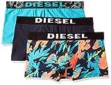 (ディーゼル) DIESEL メンズ ボクサーパンツ 3パック UMBX-SHAWNTHREEPACK Boxer 3pack 00SAB20SAQN S (S) ターコイズブルー 01