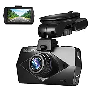 ElleSye ドライブレコーダー 車載カメラ GPS機能付き 2.7インチ 170度超広角 Full HD 1200万画像 1920X1080P解像度 動き検知 Gセンサー搭載 高温保護 日本語説明書付属