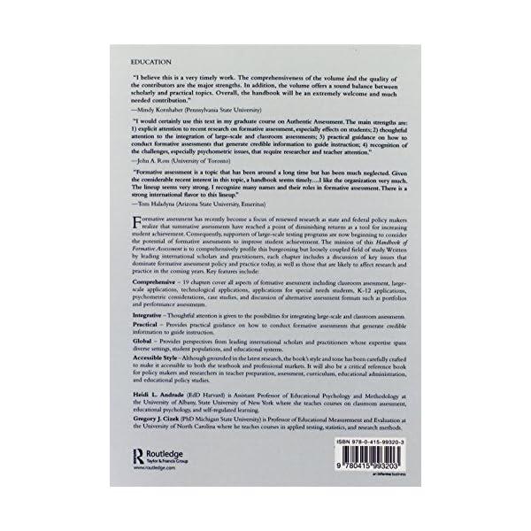 Handbook of Formative A...の紹介画像2